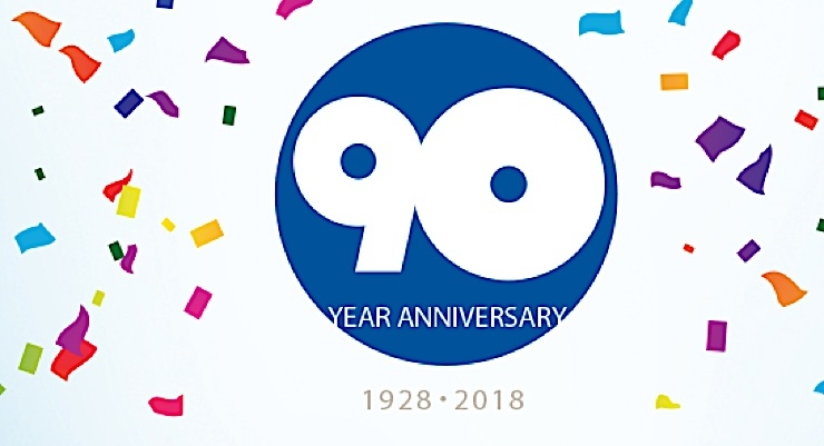 Spinnaker Coating celebrating 90 Years
