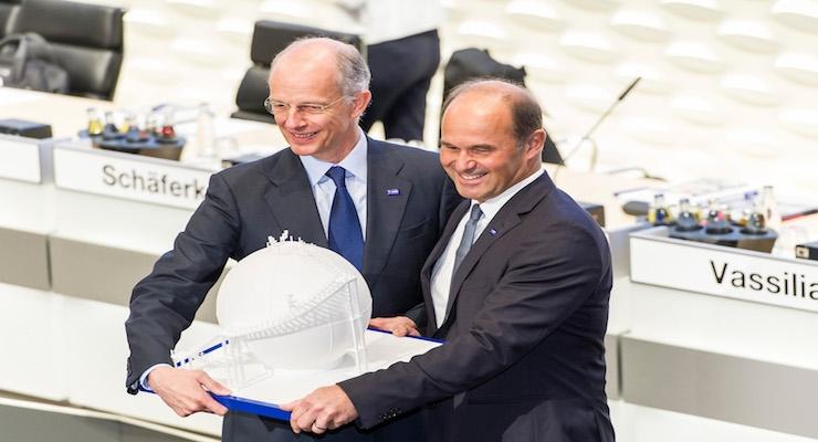 BASF: Brudermüller Succeeds Bock as CEO