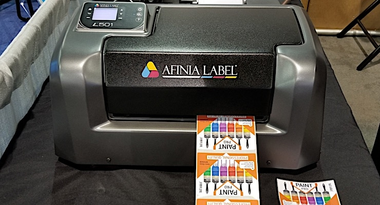 Afinia Label launches L501 color label printer for durable applications