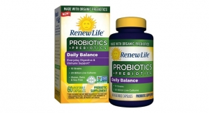 Prebiotics & Probiotics Join Forces in Renew Life