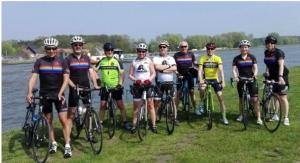 Belgian Axalta Employees Bike 1,000 km for Cancer Charity Awareness
