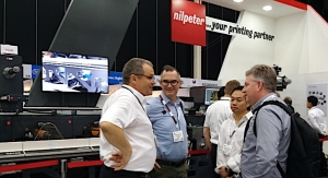 Nilpeter showcases new flexo press at Labelexpo Southeast Asia