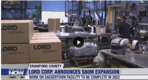 LORD Corporation Expands Saegertown Location