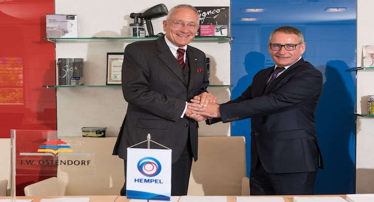 German Paint Manufacturer J.W. Ostendorf Joins Hempel Group