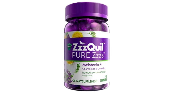 Vicks ZzzQuil Line Adds Melatonin Gummies