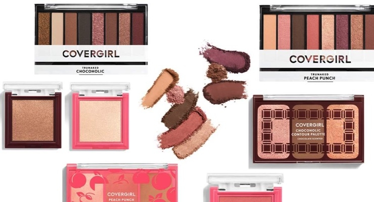 New Makeup at CoverGirl Scented With Fruit, Chocolate