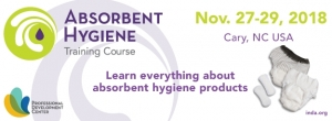 INDA to Host Second Absorbent Product Training Course