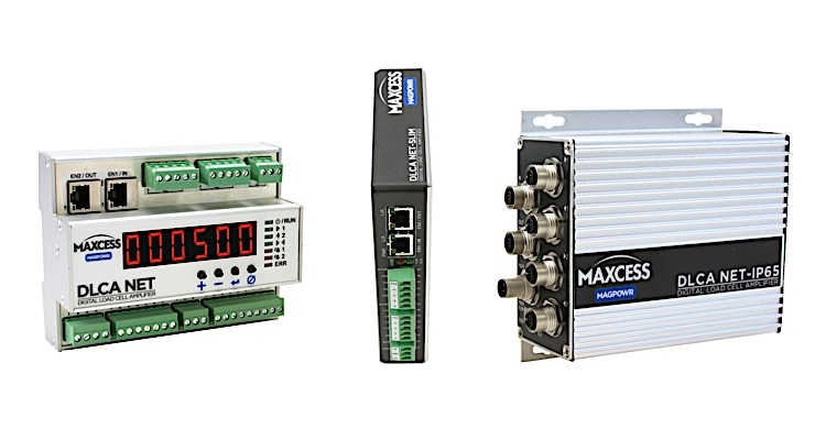 Maxcess releases new load cell amplifiers