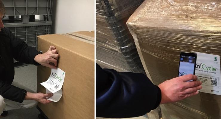 Smart labels from UPM Raflatac make recycling smarter