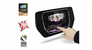 Continental–Canatu Collaboration Receives Awards for 3D Touch Display