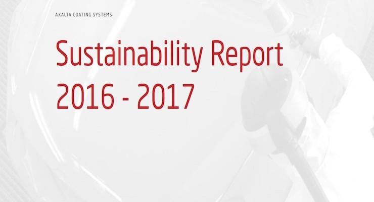 Axalta Publishes Sustainability Report
