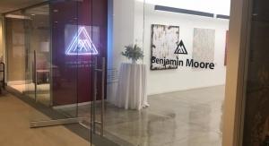 Benjamin Moore Opens Showroom in NY Design Center