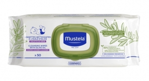 Mustela Launches Cleansing Wipes with Olive Oil