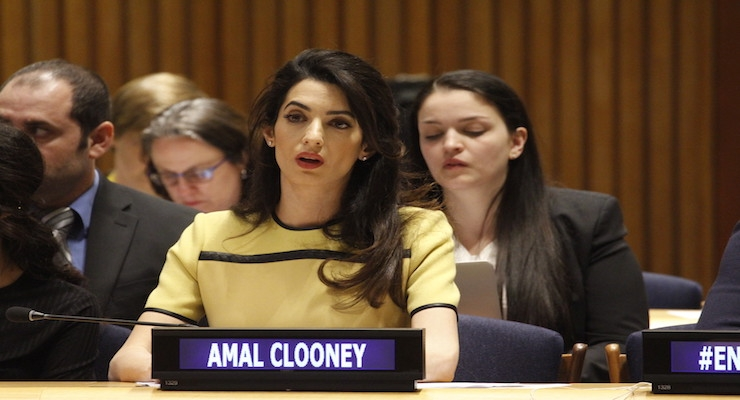 Amal Clooney Delivers Keynote Speech at 2018 Greenbuild International Conference and Expo