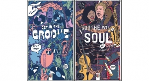 Xerox's Interactive Jazz Festival Posters Come to Life