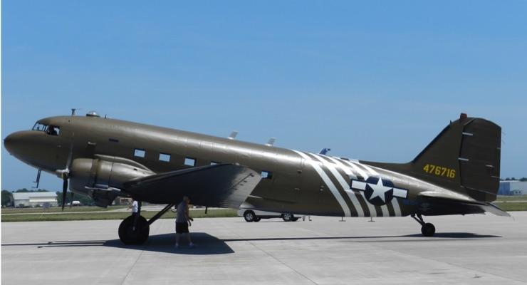 Sherwin-Williams Aerospace Coatings Supports Yankee Air Museum's C-47 Restoration