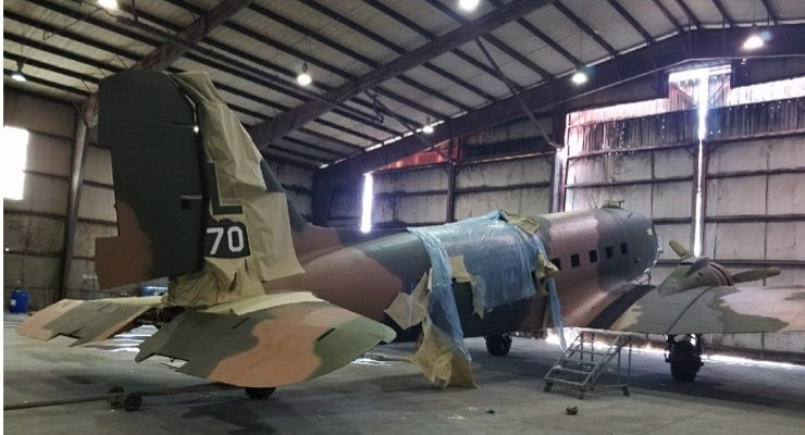 Sherwin-Williams Helps Recreate Vietnam Gunship with Medal of Honor Heritage