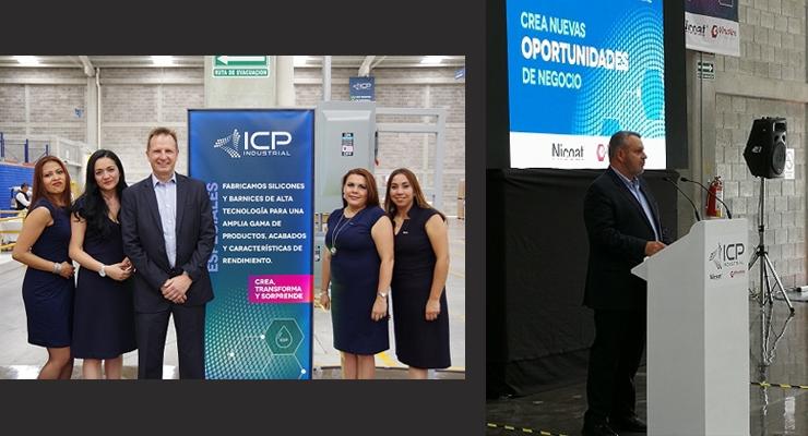 ICP Industrial Opens Production Plant in Cuautitlán Izcalli, Mexico.