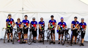 Team BASF Cycles to Raise More than $13,000 for Make-A-Wish Foundation