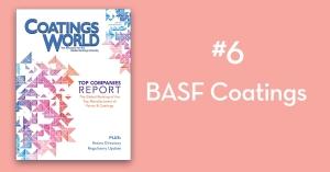 2018 Top Companies Report Countdown: No. 6 BASF Coatings