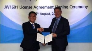 JWP, LEO Pharma Sign Licensing Agreement