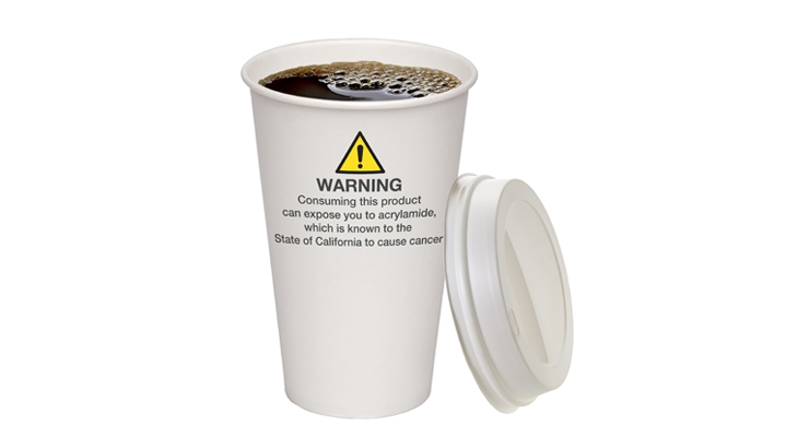 FDA Suggests Including Coffee in California