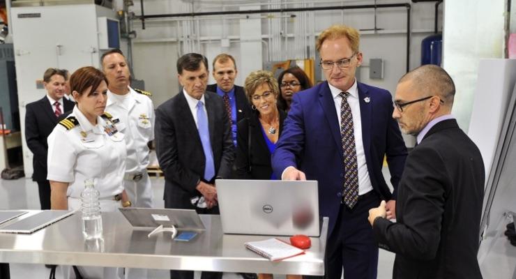 Sherwin-Williams Hosts U.S. Navy Under Secretary During Cleveland Navy Week