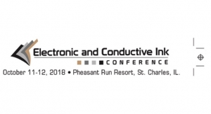 Electronic and Conductive Inks Conference to Focus on Smart Packaging, New Technologies