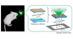 Bioadhesive, Wirelessly Powered Implant Emits Light to Kill Cancer Cells
