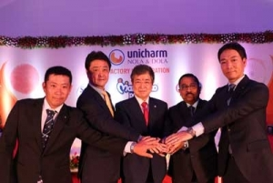 Unicharm India Investment Nearly Complete