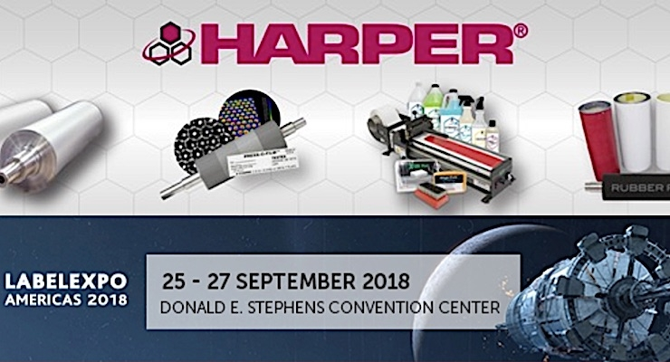 Harper invites Labelexpo attendees to