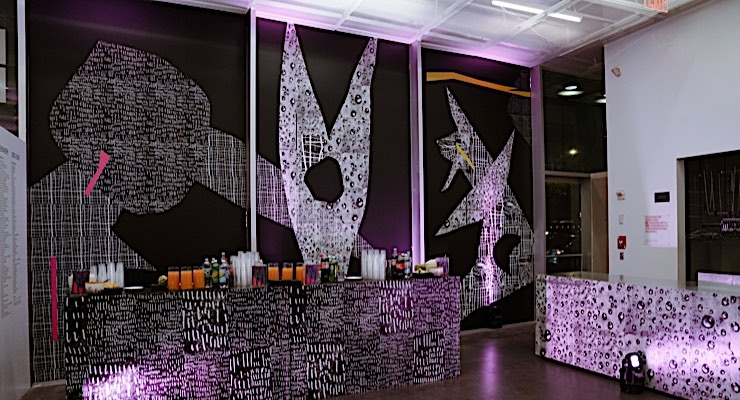 Avery Dennison, Rochambeau and Aaron Curry collaborate at New Museum
