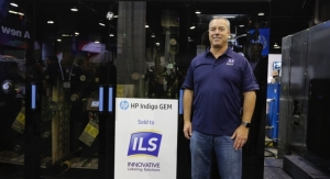 ILS to install first HP Indigo GEM unit in US