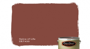 Dunn-Edwards 2019 Color of the Year: Spice of Life