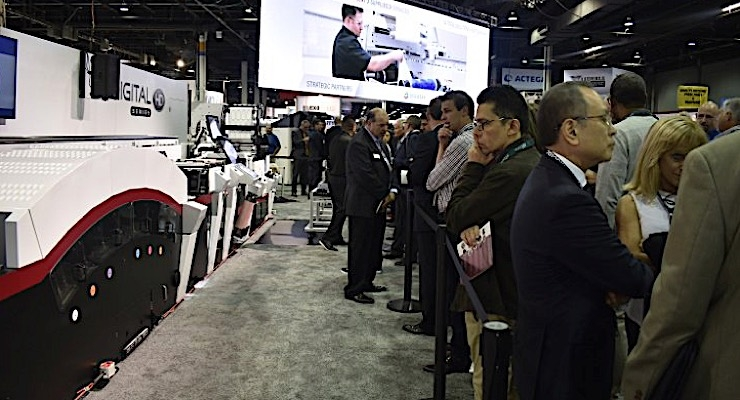 Mark Andy enjoys record-setting Labelexpo Americas