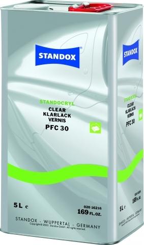 New Standox Standocryl Clear PFC 30