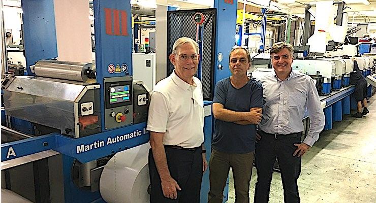 Spanish converter fits Martin Automatic to Gallus presses