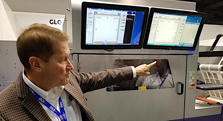 L&NW visits with Labelexpo Americas exhibitors