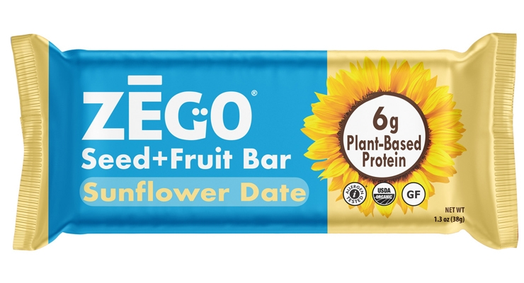 ZEGO Launches Organic Sunflower Date Protein Bar