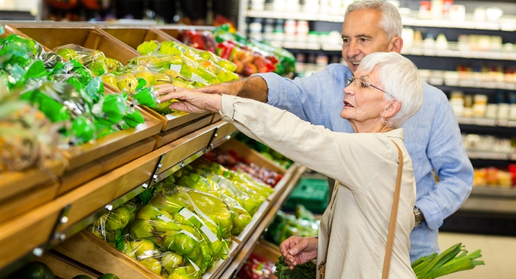 Aging Consumers Slow Down U.S. Food & Beverage Consumption