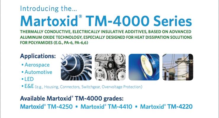 Huber | Martinswerk Introduces Martoxid TM-4000 Series
