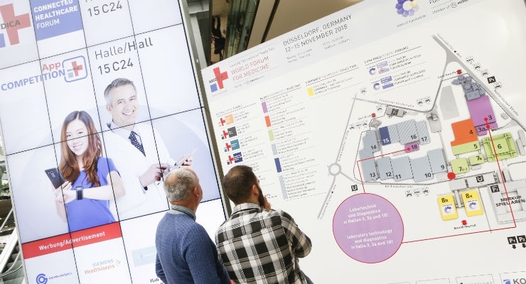 Images from Medica/Compamed 2018, Day 1