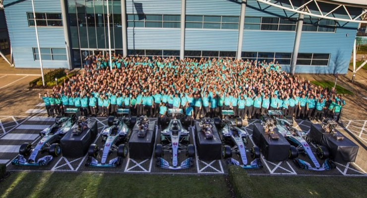 Axalta Congratulates Mercedes-AMG Petronas Motorsport on Formula One Season