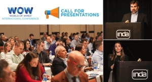 INDA Calls for Papers for World of Wipes 2019
