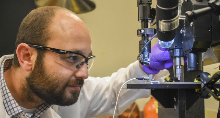 Glucose Biosensor 3D Printed for Wearable Monitors