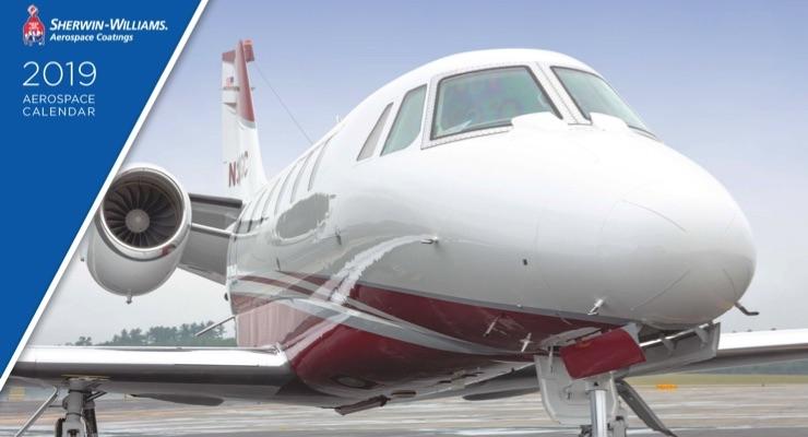 Sherwin-Williams Releases 2019 Aerospace Calendar