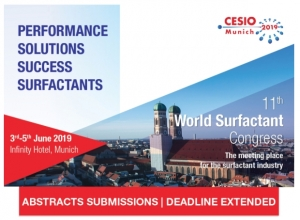 World Surfactant Congress Seeks Abstracts