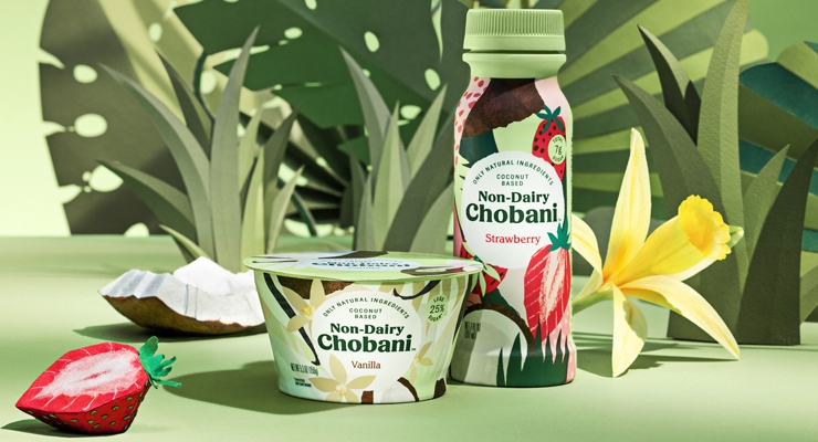 Chobani Unveils Non-Dairy, Plant-Based Recipe