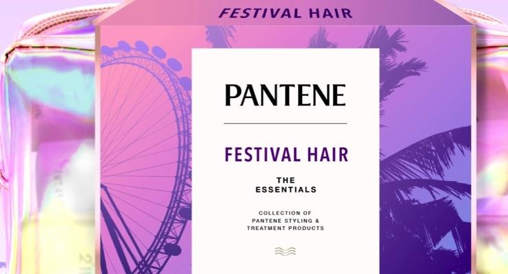 Pantene Partners with Coachella Festival