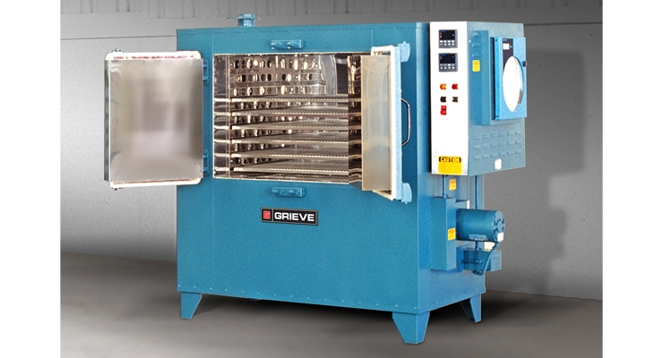 Grieve Releases New 850ºF Cabinet Oven